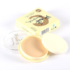 voordelige Make-up Gezicht-3 Poeder Droog Geperst PoederVochtigheid / Witter Maken / Concealer / Oneffen huidtint / Naturel / Donkere kringen behandeling /