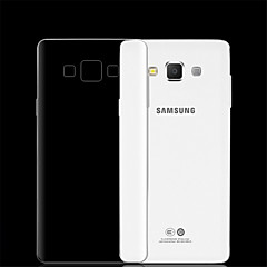 voordelige Galaxy A7 hoesjes / covers-0.3mm transparant TPU zachte hoes voor Samsung Galaxy A3 / A5 / A7 / A8 / A9 telefoon gevallen