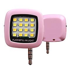 la iluminación del flash del teléfono sincronización fría y caliente rk05 (color clasificado)