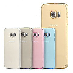 For Samsung Galaxy S7 Edge Transparent Case Back Cover Case Solid Color TPU for Galaxy S7 S6 edge plus S6