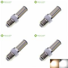 E14 G9 GU10 B22 E26 E26/E27 LED Corn Lights Recessed Retrofit 72 SMD 5630 1200-1500 lm Warm White Cold White 3000-3500K 6500-7500K K