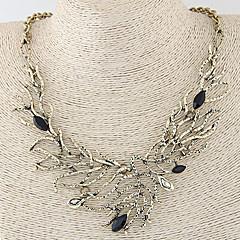 お買い得  ネックレス-女性用 ステートメントネックレス  -  ファッション 欧風 シルバー 青銅色 ネックレス 用途 パーティー 日常 カジュアル