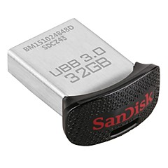 sandisk ultra fit 32gb usb unitate 3.0 Flash (sdcz43-032g-gam46)