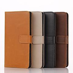 Недорогие Чехлы и кейсы для Sony-натуральная кожа модели высокого качества бумажник чехол для Sony Xperia Z1 / Z3 / Z4 / м2 / m4 / t3 / c4 / e3 / e4 (ассорти цветов)