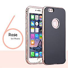 Недорогие Кейсы для iPhone 6 Plus-Кейс для Назначение iPhone 6s Plus / iPhone 6 Plus / Apple iPhone 6 Plus Кейс на заднюю панель Твердый Металл для iPhone 6s Plus / iPhone 6 Plus