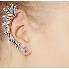 Earring Ear Cuffs Jewelry Women Alloy / Rhinestone 2pcs Silver