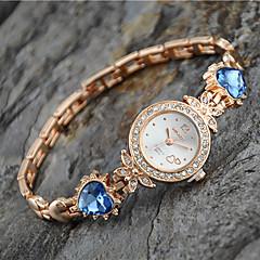 billige Urtilbud-Dame Modeur Armbåndsur Quartz Legering Bånd Heart Shape Elegant Guld