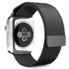 Milanese loop for apple reloj 38mm 42mm acero inoxidable sustitución reloj