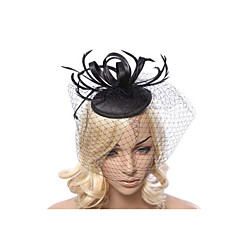tanie Biżuteria do włosów-Fascinators-Ślub / Impreza(Materiał)