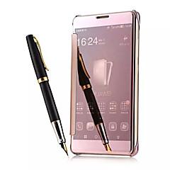 luxustelefonja válasz intelligens ablak kilátás tiszta tükör felébred alvás intelligens felhajtható tok Huawei mate7