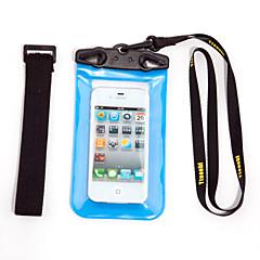 Στεγνό Κουτιά Στεγανές Τσάντες Κινητό τηλέφωνο Αδιάβροχο Καταδύσεις & Κολύμπι με Αναπνευστήρα PVC Κόκκινο Μαύρο