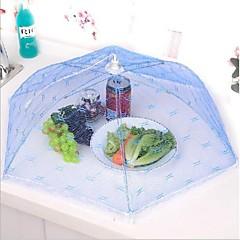 부엌 파티 테이블 식품 저장 커버 접이식 우산 레이스 금속 프레임 임의의 색상 메쉬