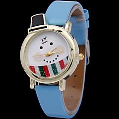 preiswerte Tolle Angebote auf Uhren-Damen Armbanduhr Digital Schlussverkauf Caucho Band Analog Charme Modisch Weiß / Rot / Grün - Grün Rosa Hellblau