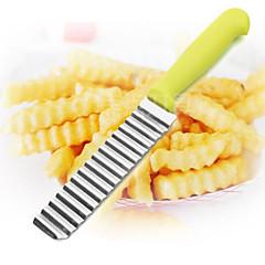 1 db Cutter & Slicer For Növényi / Gyümölcs Rozsdamentes acél Kreatív Konyha Gadget / Több funkciós / Jó minőség