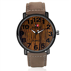 お買い得  メンズ腕時計-SOXY 男性用 リストウォッチ クォーツ ホット販売 レザー バンド ハンズ チャーム ブラウン - Brown グリーン ブルー