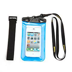 Droge Dozen Droge tassen Mobiele Telefoon Waterbestendig Duiken & Snorkelen PVC Rood Orange Groen Blauw Zwart Wit