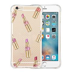 Недорогие Кейсы для iPhone 6-Кейс для Назначение Apple iPhone 6 iPhone 6 Plus С узором Кейс на заднюю панель Плитка Мягкий Силикон для iPhone 6s Plus iPhone 6s iPhone