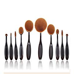 voordelige Make-up kwasten-10 Brush Sets / Blushkwast / Wenkbrauwkwast / Poederkwast / Foundationkwast / Andere kwasten / Contour Brush NylonkwastProfessioneel /