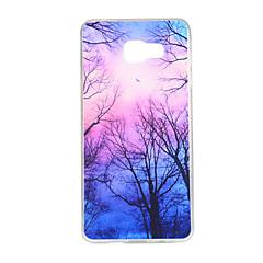 halpa Galaxy A5 kotelot / kuoret-Varten Samsung Galaxy kotelo Kuvio Etui Takakuori Etui Puu TPU Samsung A7(2016) / A5(2016) / A3(2016) / A7 / A5 / A3