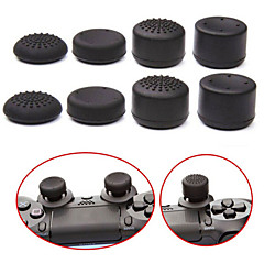 cheap PS4 Repair Parts-8pcs/Lot Analog ThumbStick Joystick Grips Extra High Enhancements Cover Caps For Sony Play Station PS4 Game Controller