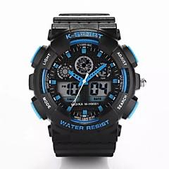 preiswerte Tolle Angebote auf Uhren-Herrn Sportuhr Digital Schlussverkauf Plastic Band Analog-Digital Luxus Schwarz - Rot Grün Blau Ein Jahr Batterielebensdauer / Songbai SR626SW