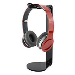 populares soporte material acrílico para tranparent auriculares (colores aleatorios)