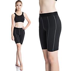 Mulheres Shorts de Corrida Secagem Rápida Compressão Redutor de Suor Meia-calça Leggings Roupas de Compressão Calças para Ioga Exercício