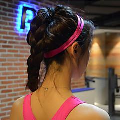 mulheres de cabelo homens yoga bandas esportes cabeça anti-derrapante sweatband de borracha elástica de futebol yoga corrida de bicicleta