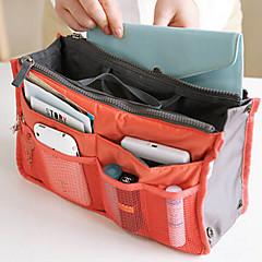 حقيبة أدوات تجميل للسفر منظم أغراض السفر تخزين السفر متعددة الوظائف إلى ملابس نايلون / للمرأة السفر