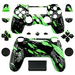 abordables Skins para PS4-Partes de reemplazo del controlador del juego Para PS4 ,  Partes de reemplazo del controlador del juego ABS 1 pcs unidad
