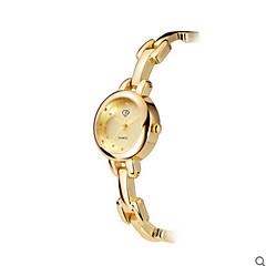 お買い得  レディース腕時計-女性用 ファッションウォッチ 耐水 ステンレス バンド シルバー / ゴールド