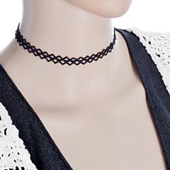 preiswerte Halsketten-Damen Halsketten / Torques / Gothic Schmuck - Spitze Tattoo Stil, Modisch Schwarz Modische Halsketten Für Hochzeit, Party, Alltag / Tattoo-Hals