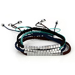 abordables Bijoux pour Femme-Femme Bracelet d'amitié - Amis Bracelet Vert / Rose / Bleu clair Pour Quotidien Décontracté Sports