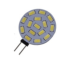 5w g4 led spotlight mr11 15 smd 5730 550lm warm wit koud wit 3000-3500k 6000-6500k decoratieve dc 12 ac 12 ac 24 dc 24v