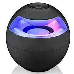 ワイヤレスBluetoothスピーカー 2.1 CH 携帯式 LEDライト