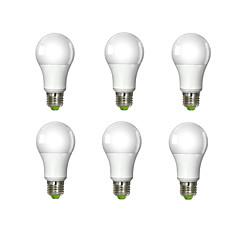 E26/E27 Bombillas LED de Globo A60(A19) 1 leds COB Blanco Fresco 980lm 6000K AC 100-240V