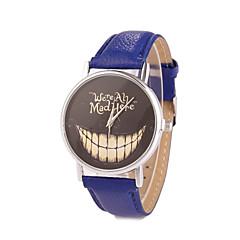 preiswerte Damenuhren-Damen Armbanduhr Quartz Armbanduhren für den Alltag PU Band Analog Charme Modisch Kleideruhr Schwarz / Weiß / Blau - Grün Rosa Hellblau Ein Jahr Batterielebensdauer / Tianqiu 377