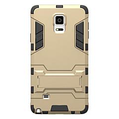 Samsung Galaxy ütésálló, az állvány és tok hátlap esetében páncél kemény pc samsung megjegyzések 5. jegyzet 4