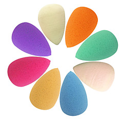 Waterdruppels Shape Beauty Make-up Powder Puff (willekeurige kleur)