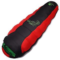 Sac de dormit Sac de Dormit Mumie Single +10 Bumbac Gol Keep Warm Rezistent la umezeală Bine Ventilat Uscare rapidă Rezistent la Vânt