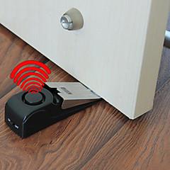 voordelige -1pc deurstop alarmbel - beveiliging deurstop wig sirene alert