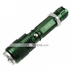 voordelige Zaklampen-U'King ZQ-X913 LED-Zaklampen LED 1200lm lm 5 Modus Cree XM-L2 Zoombare Verstelbare focus Antislip-handgreep Gemakkelijk draagbaar