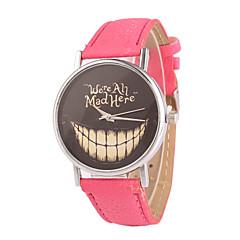 preiswerte Damenuhren-Damen Armbanduhr Armbanduhren für den Alltag PU Band Charme / Modisch / Kleideruhr Schwarz / Weiß / Blau / Ein Jahr / Tianqiu 377