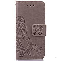 Voor iPhone X iPhone 8 iPhone 5 hoesje Hoesje cover Portemonnee Kaarthouder met standaard Flip Reliëfopdruk Volledige behuizing hoesje