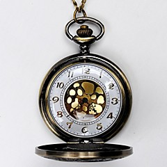 Męskie Zegarek kieszonkowy Kwarcowy Grawerowane Stop Pasmo żółty
