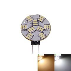 preiswerte LED-Birnen-SENCART 2W 3000-3500/6000-6500lm G4 LED Spot Lampen MR11 27 LED-Perlen SMD 4014 Abblendbar Warmes Weiß / Natürliches Weiß 12V / 5 Stück