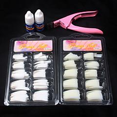 1 Nail Kit Nail Art dekoráció Akril szett Nail Art DIY