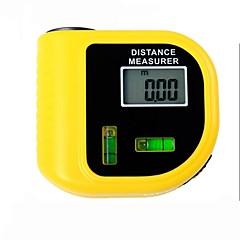 Χαμηλού Κόστους Όργανα Ακριβείας-ηλεκτρονική laser μετρητή απόστασης tester με οθόνη LCD ψηφιακή οθόνη (εύρος: 2 ~ 60ft, + / - 5%)