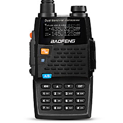 billige Walkie-talkies-BAOFENG UV-5R 4TH Walkie-talkie Håndholdt Digital Stemmekommando Dual-band Dobbelt Display Dobbelt standby CTCSS/CDCSS LCD FM Radio 1,5-3