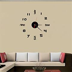 abordables relojes-Clásico Casual Oficina/ Negocios Moderno/Contemporáneo Tradicional Campestre Retro Acrílico Redondo Rectangular Cuadrado Novedad Domo